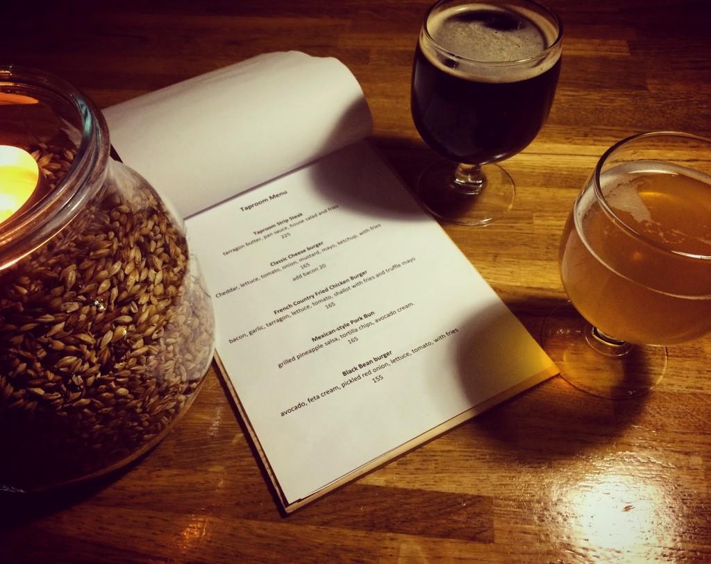 tap-room-menu