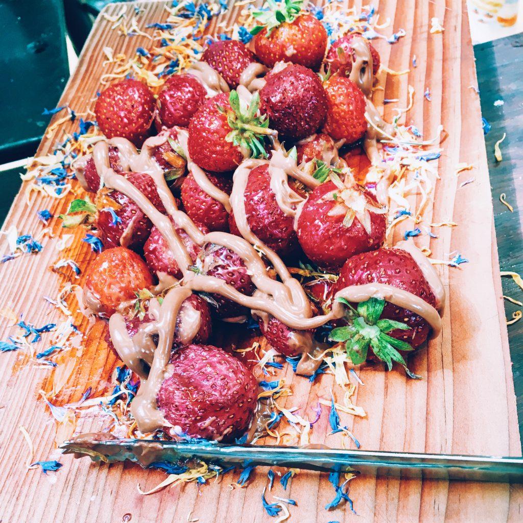 brunch-copenhague-fraises