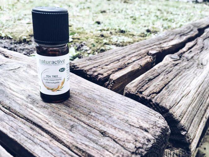 L'huile essentielle d'arbre à thé : mon petit miracle