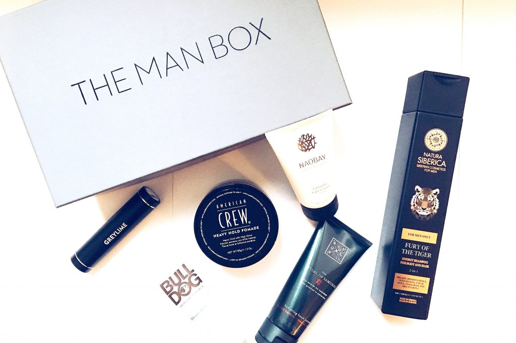 The Man Box : Le concept de Box beauté homme