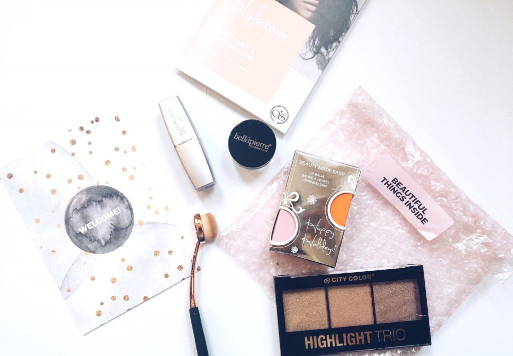 La box maquillage colorée Styletone