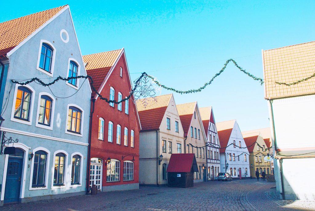 A deux pas de Malmö, le village Hjärup, coloré