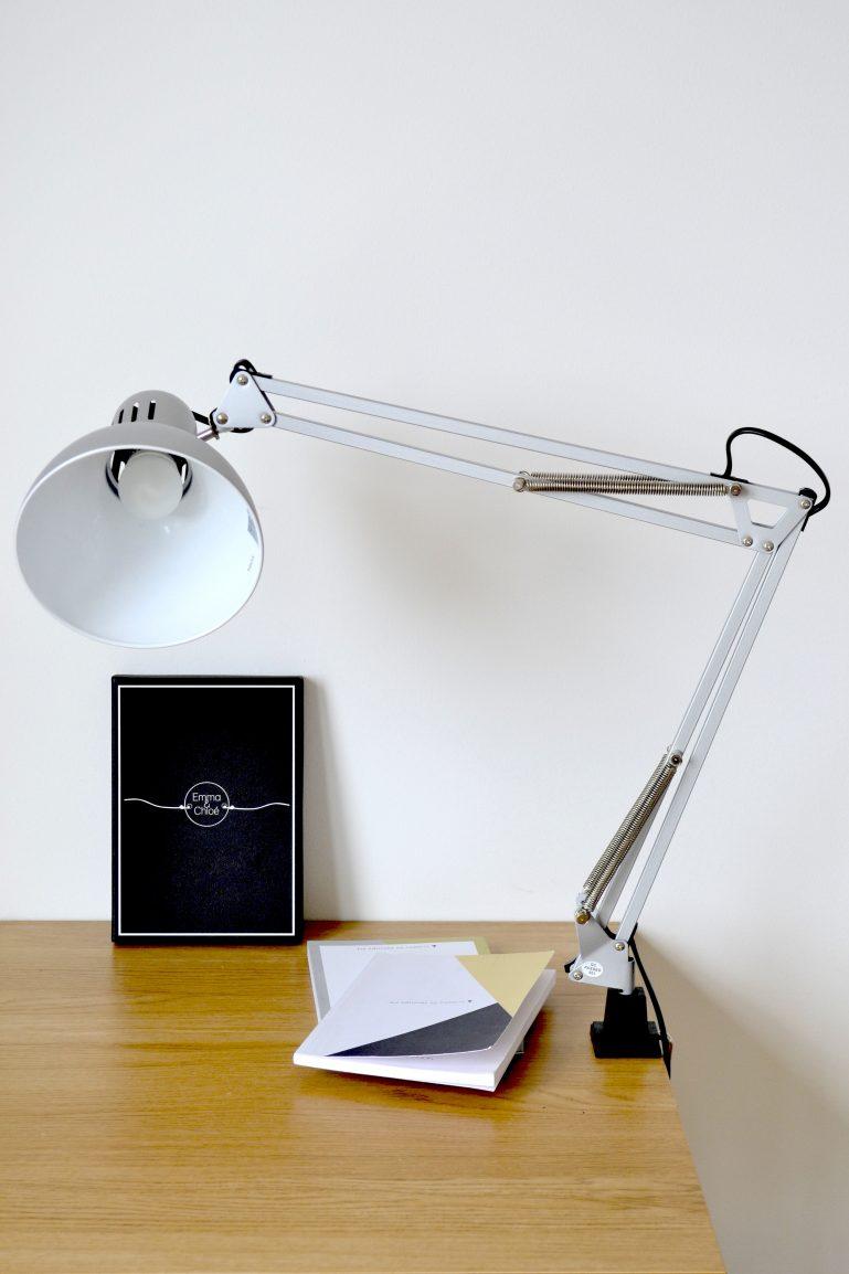lampe de bureau minimaliste scandinave