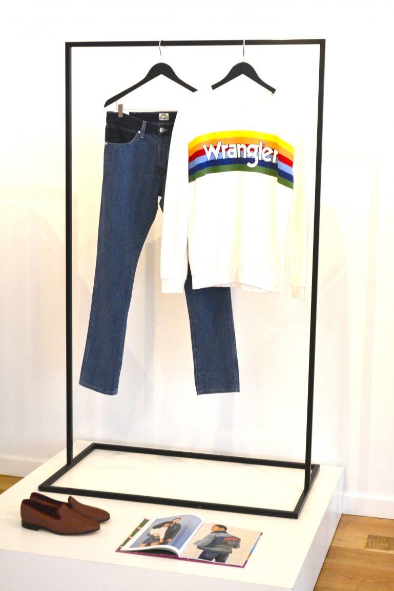 wrangler jean t shirt mode magasine