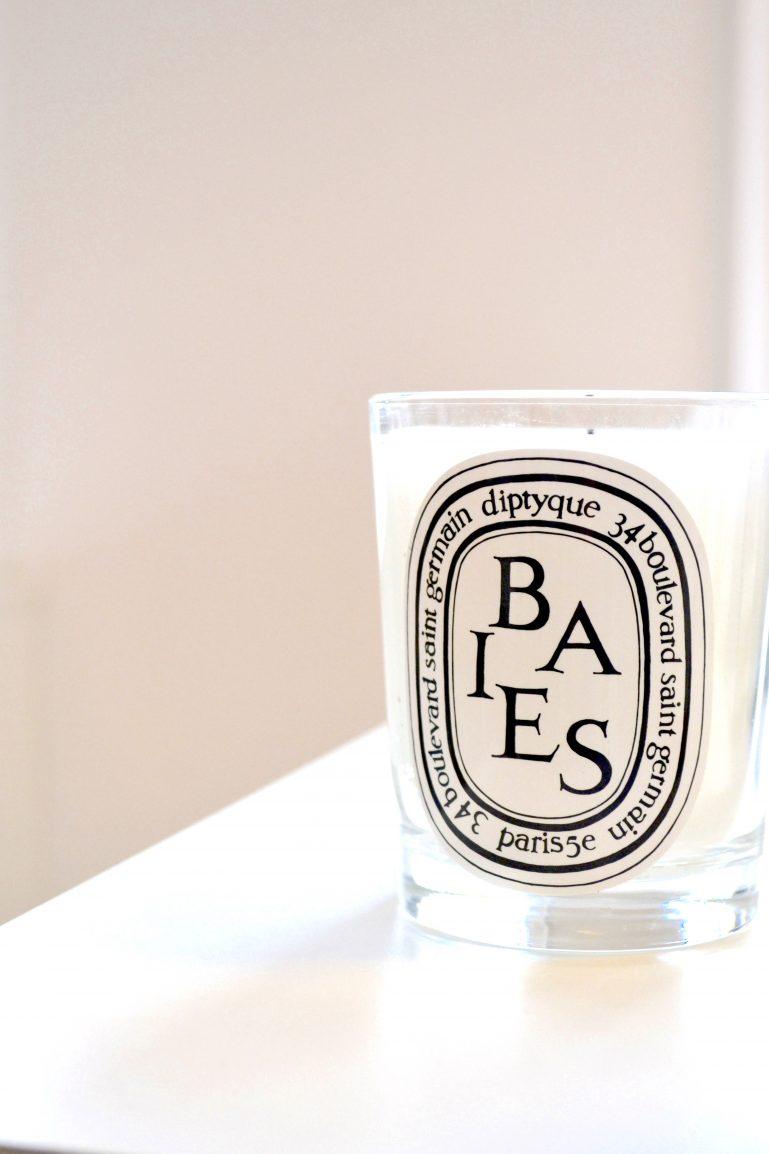 bougie parfumee deco scandinave