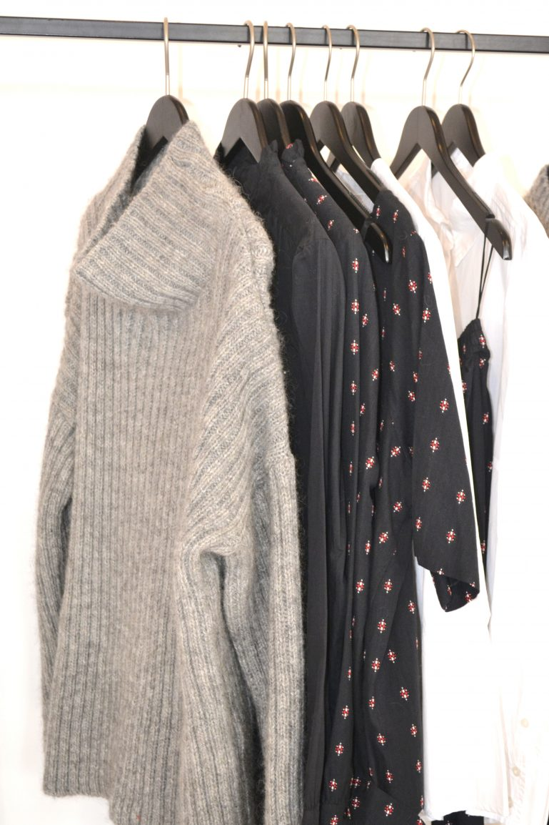 pull doudou angora gris cintres mode