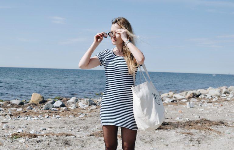 robe marine plage