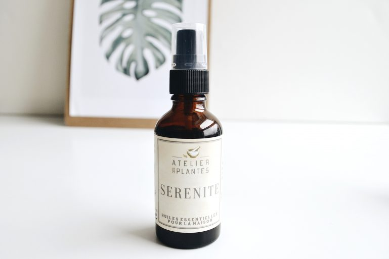 spray sérénité calme maison huiles essentielles