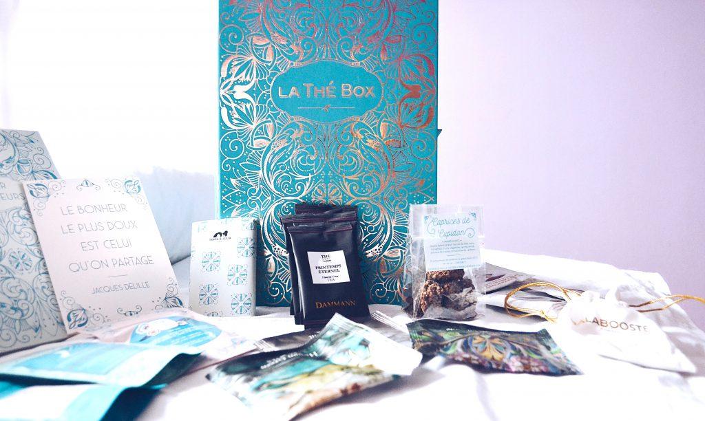 La thé box : une box féérique pour les #tealovers