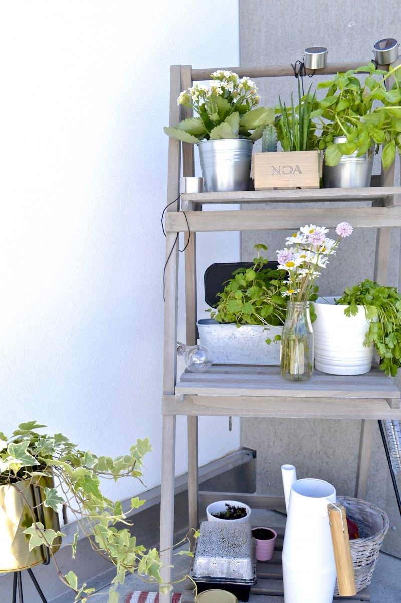 ladder balcony decoration scandinavian inspo
