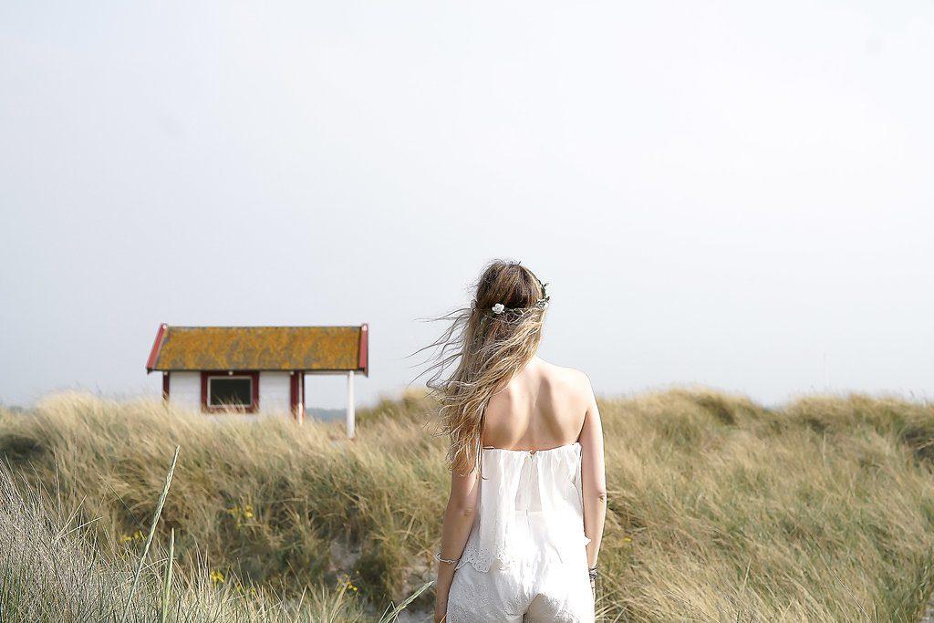 Skänor in Sweden, a beautiful Scandinavian beach