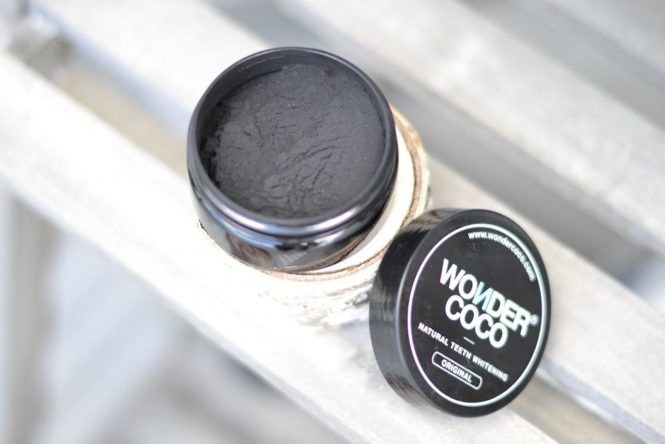 charbon actif blanchiment des dents