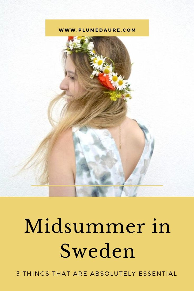 midsummer in Sweden
