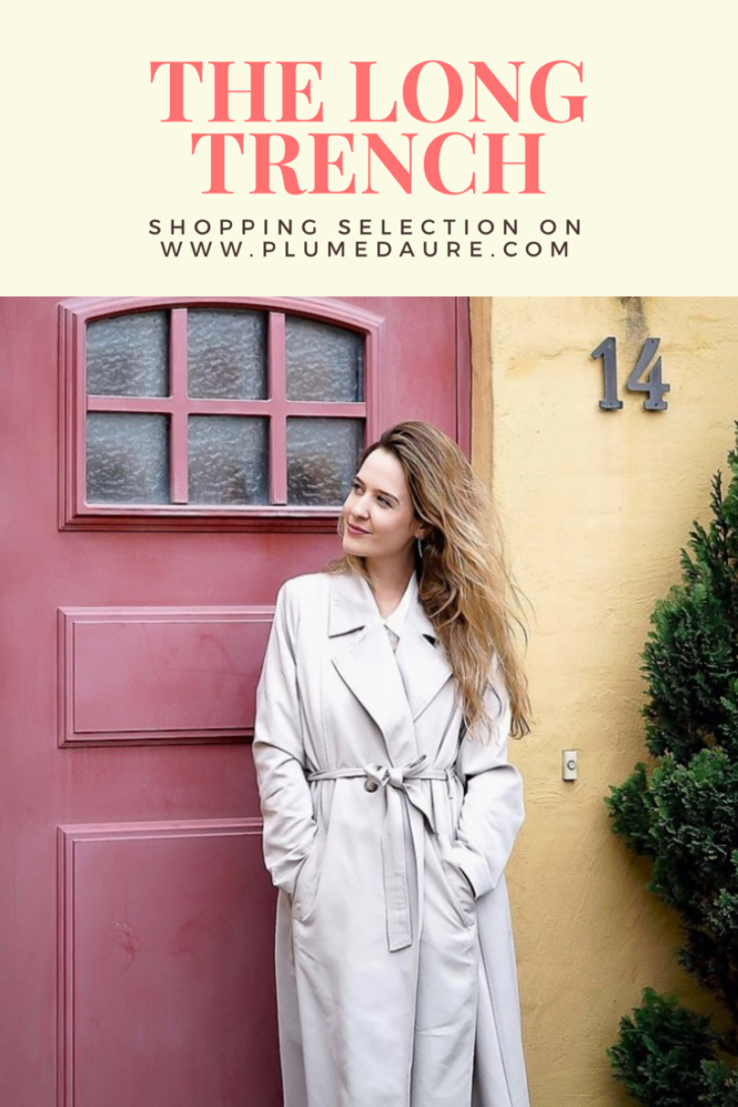 The long trench is just the perfect coat for autumn! Find a shopping selection on long trenches!