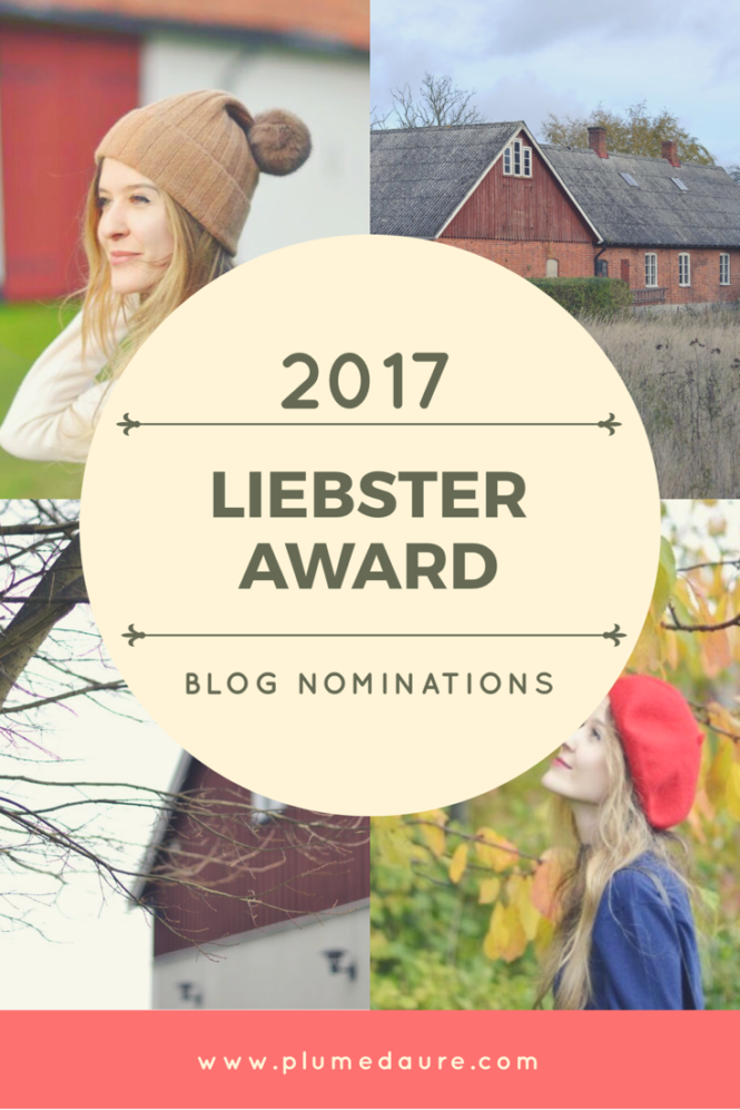 Liebster Award nominations 2017. Qui sont les blogs nominés ?