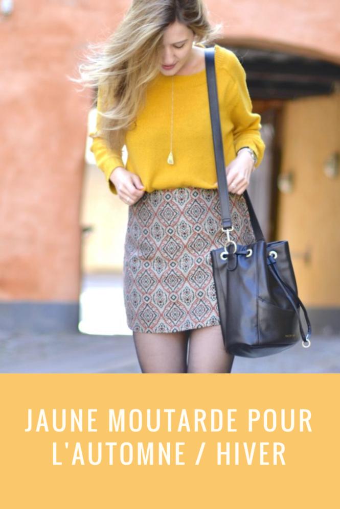 Le jaune moutarde est LA couleur de l'automne / hiver ! Retrouvez des idées pour le porter et une sélection shopping !