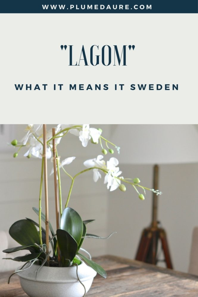 Lagom and what it means in Sweden