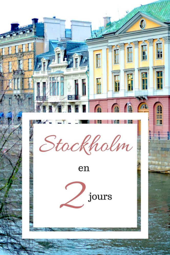 Que faire à Stockolm en 2 jours ? Tous mes conseils !