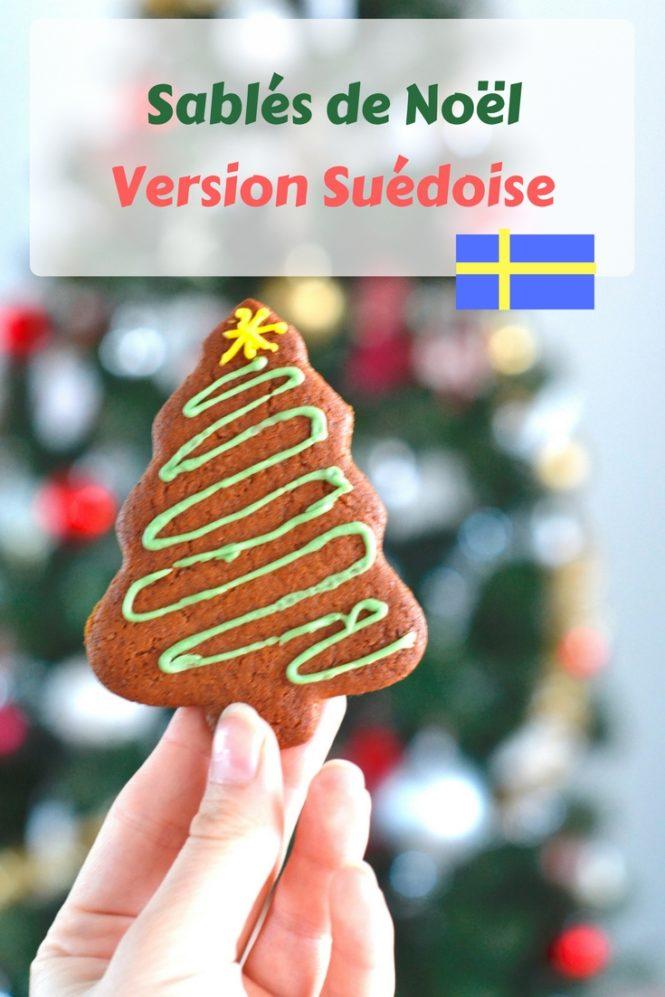 Comment faire des sablés de Noël version Suédoise ?