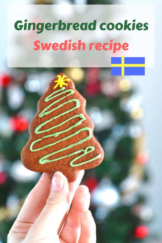 How to make gingerbread Christmas cookies ?