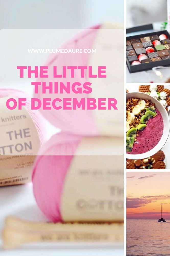The good things of December.