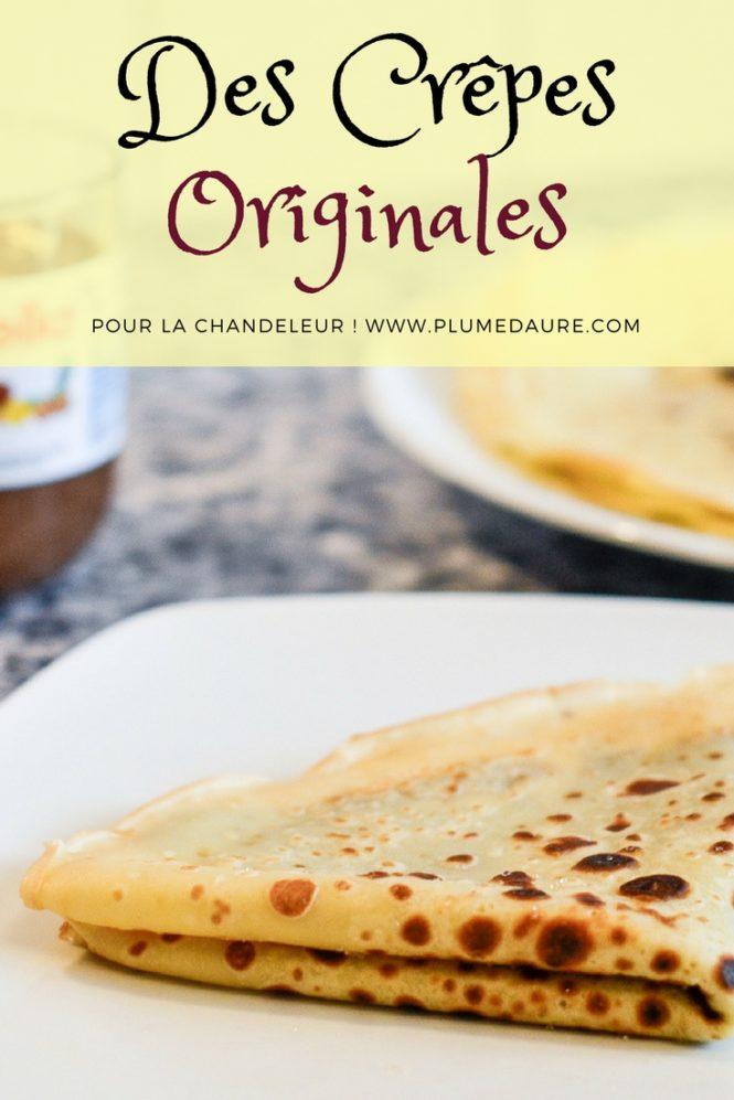 C'est la chandeleur ! On connaît tous la recette basique de pâte à crêpes mais que dites-vous de petites variantes faciles pour des crêpes originales cette année ? Par ici !