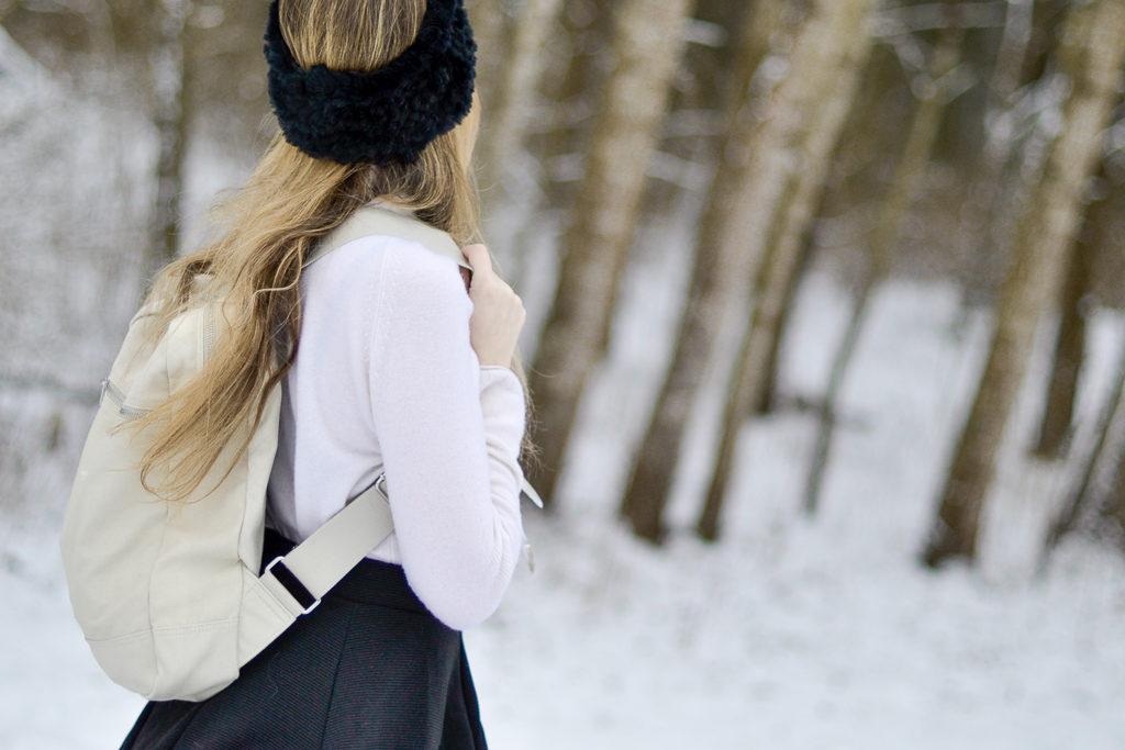 Un hiver tout blanc en Suède