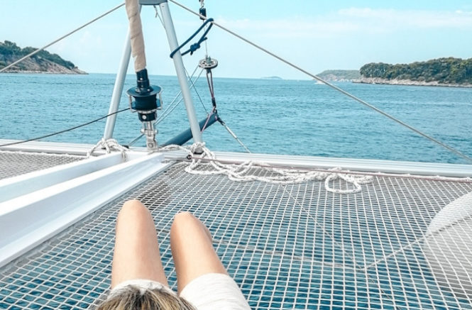 4 jours sur un catamaran en Croatie