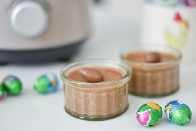 Mousse au chocolat au blender