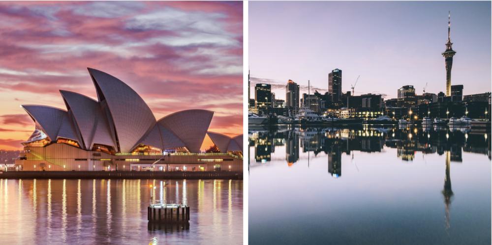 Voyager en Australie ou voyager en Nouvelle-Zélande?