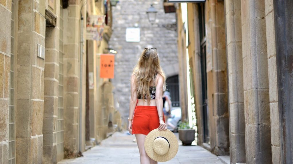 Les petites rues de Barcelone
