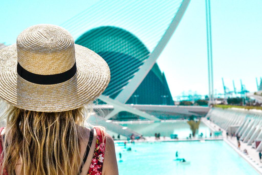 La cité des sciences de Valence en Espagne