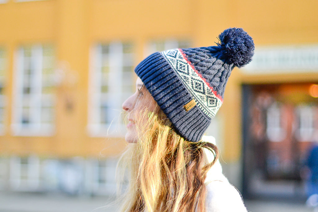 A Nordic beanie against the cold