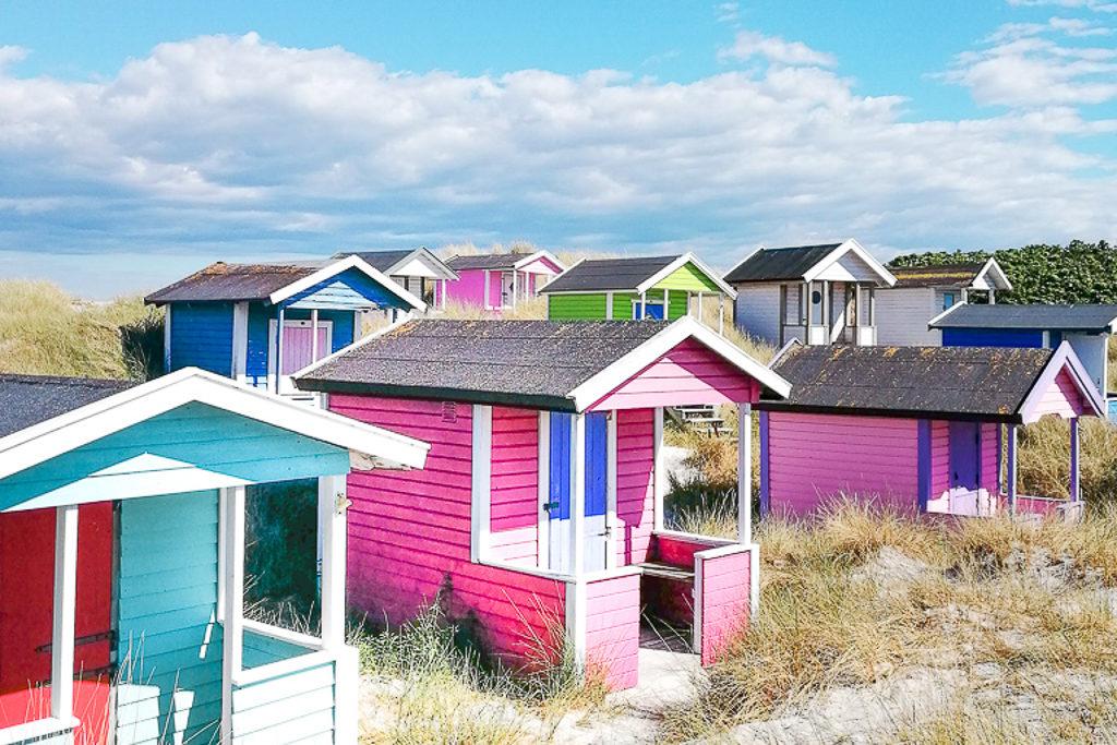 Je vous emmène visiter Skanör, la plus jolie plage de Suède