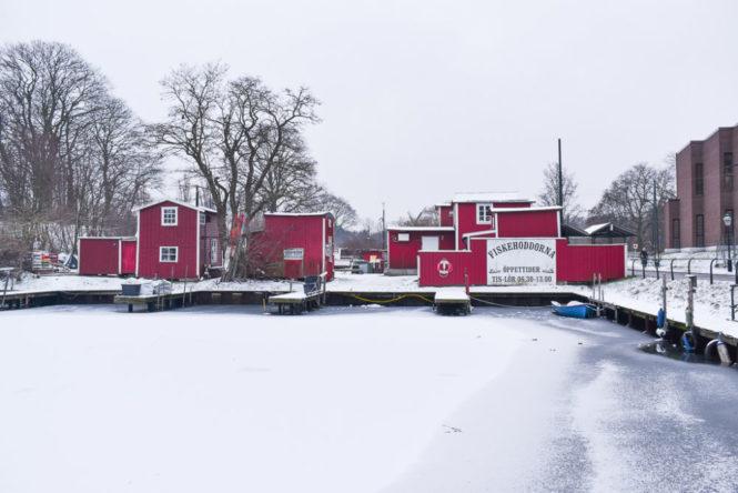 Faluröd färg, le rouge typique Suédois