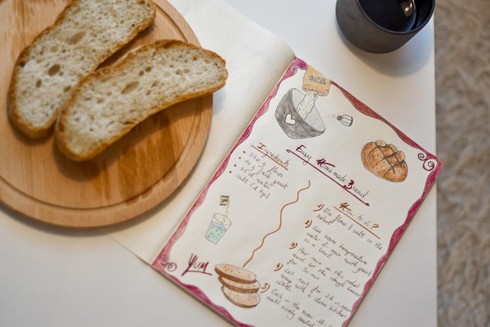 Easy homemade bread recipe