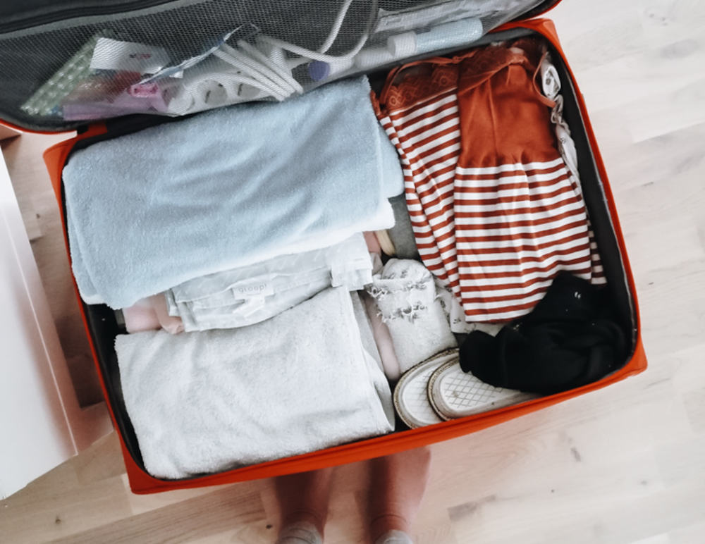 Maternity suitcase : what to pack ?